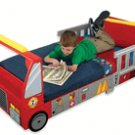 KidKraft     Fire Truck Red  Toddler Cot w/Storage      KK76021