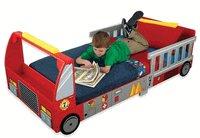 KidKraft     Fire Truck Red  Toddler Cot w/Storage      KK76021