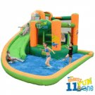 Kidwise  Endless Fun Bounce & Water Slide Combo 11 In  1 KW SS-9306