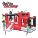 Kidwise Multi Color The Little Raceway Bounce House SSD-RACER-03