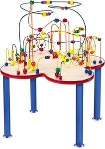 Anatex Fleur Rollercoaster Table  Metal Legs FL1000 Multi