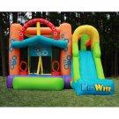 Kidwise  Double Shot Inflatable Bounce House & SlideKWJC-201 Multi