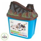 Kidkraft Bucket Top Construction Train Set KK 17805  MultiColor