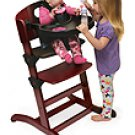 Badger Basket Wood Convertible High Chair Cherry 91700