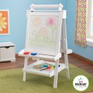 Kidkraft White Art Easel 3 in 1 with Storage  KK62040