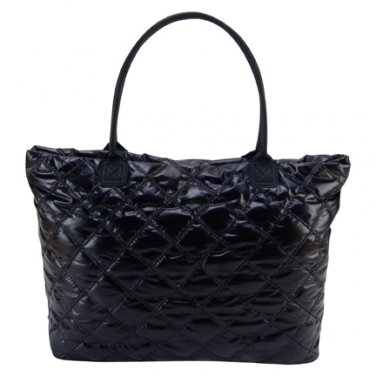 Trend Lab Baby Diaper Bag Black Mod Tote #104309