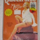 VINTAGE MOULIN ROUGE  PANTYHOSE  QUEEN SIZE BEIGE