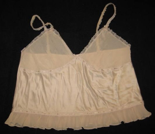 CREAM WHITE  CAMISOLE SIZE XXXLARGE BY CARRIE