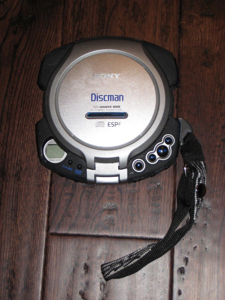 Sony CD Walkman D-EG5- ESP2  CD PLAYER  TESTED WORKS GREAT DISCMAN