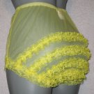 CD SUPER SHEER CHIFFON NYLON RUFFLE  FRILLY  SISSY PANTIES M-L-XL