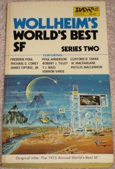 WOLLHEIMS WORLDS BEST SF SERIES 2 DAW 1973