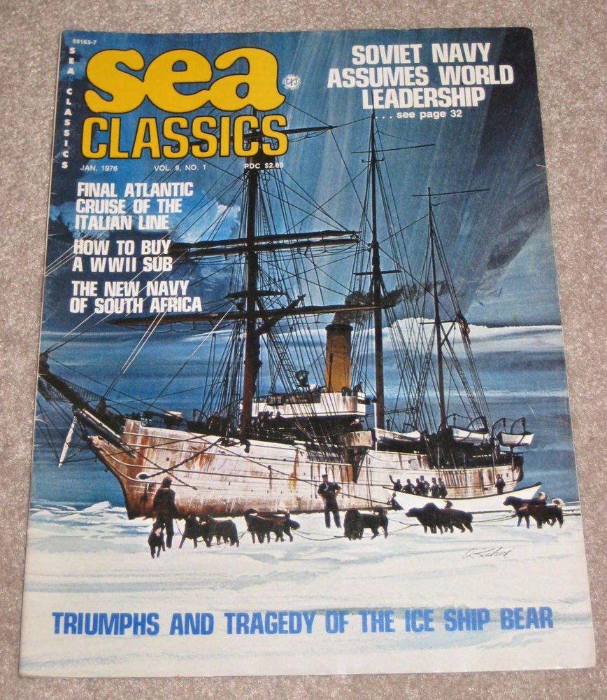 SEA CLASSICS JANUARY 1976