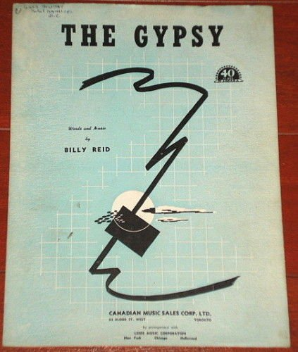 The Gypsy Billy Reid1946 publication