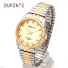 DUFONTE watch buy save  Brand New mens  Genuine Crystals