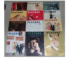 Playboy Magazines 1961 Complete Year