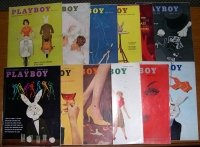 Playboy Magazines 1959 Complete Year