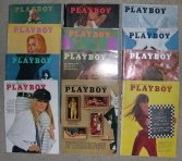 Playboy Magazines 1967 Complete Year