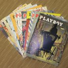 Playboy Magazines 1955 Complete Year