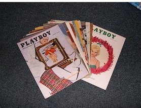Playboy Magazines 1956 Complete Year