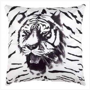 Tiger Accent Pillow