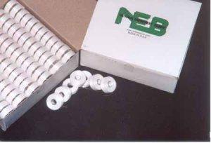 NEB Bobbins - 144 bobbins - Style L - White