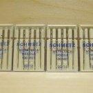20 Schmetz Metallic 80/12 & 90/14 Needles 130MET