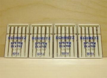20 Schmetz System 90/14 Needles ELx705