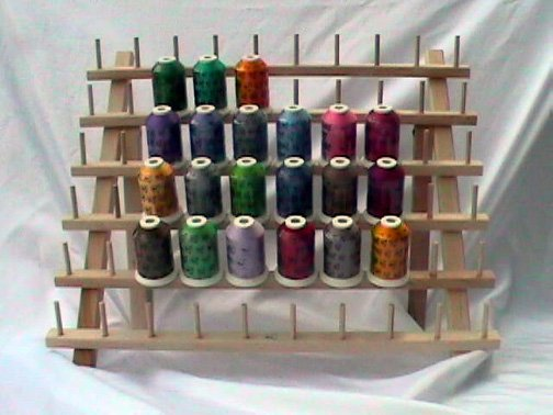 Robison-Anton Set of Twister Tweed Rayon Machine Embroidery Thread Set (21 mini king cones)