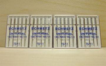150 Schmetz Universal 75/11 Needles 130/705H 15X1H