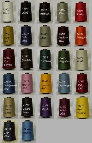 American & Efrid sewing/serger thread - Perma Core Tex 30 - 6000 yds