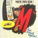 M- 1951 remake (rare cult film)