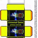 Universal Game- graphic novel, links & card game