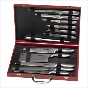 Kitchen Knife Set - 12 pc