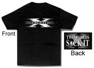 TV186 - WWE DX D Generation X Suck It T-Shirt