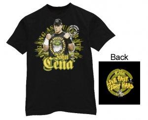 40707 - WWE John Cena Live Fast Fight Hard T-Shirt