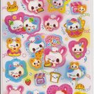 Kamio Animal Bakery Friends Sticker Sheet