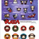 Vooz Pucca Sticker Sheet