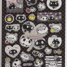 Crux Monotone Panda Sparkly Sticker Sheet