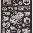 Crux Monotone Panda Sparkly Sticker Sheet