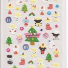Japanese Kawaii San-X Cloth-like Lambs Christmas Stickers