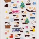 Japanese Kawaii San-X Shiny Hamsters Christmas Stickers