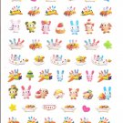 Kamio Craft Babies Mini Stickers Sticker Sheet