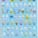 Q-Lia Toothpaste Guys Sparkly Sticker Sheet