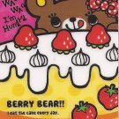 Mind Wave Berry Bear Mini Memo Pad
