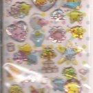 Crux Colorful Unko Poop 3D Sticker Sheet