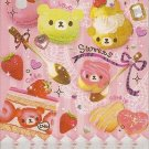 Q-Lia Bear Cake Sweets Mini Memo Pad