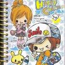 Crux Happy Charm Mini Spiral Notebook