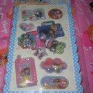 Crux High Shool Girls 3D Shaker Sticker Sheet