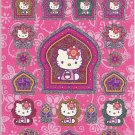 Sanrio Hello Kitty in India Shiny Sticker Sheet