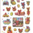 Kamio Caramel Box Sparkly Sticker Sheet